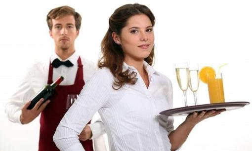 Receptionist, waiters, cooks, cleaners, bartender